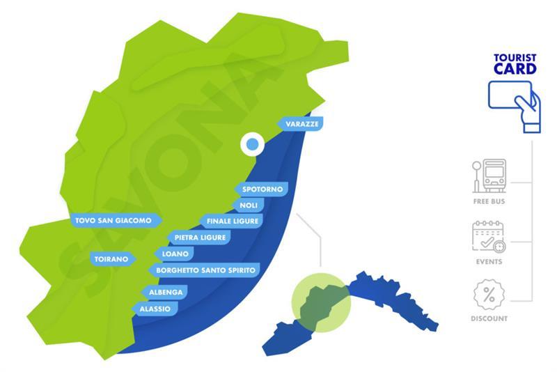 mappa provincia di Savona
